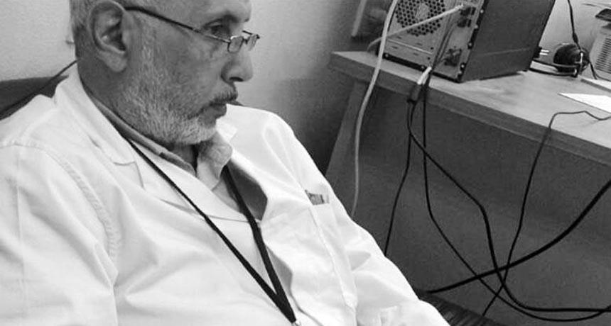 دكتور عبدالرحمن محمد سمك، إستشارى الأنف والأذن والحنجرة بالمستشفى التعليمي بشبين الكوم