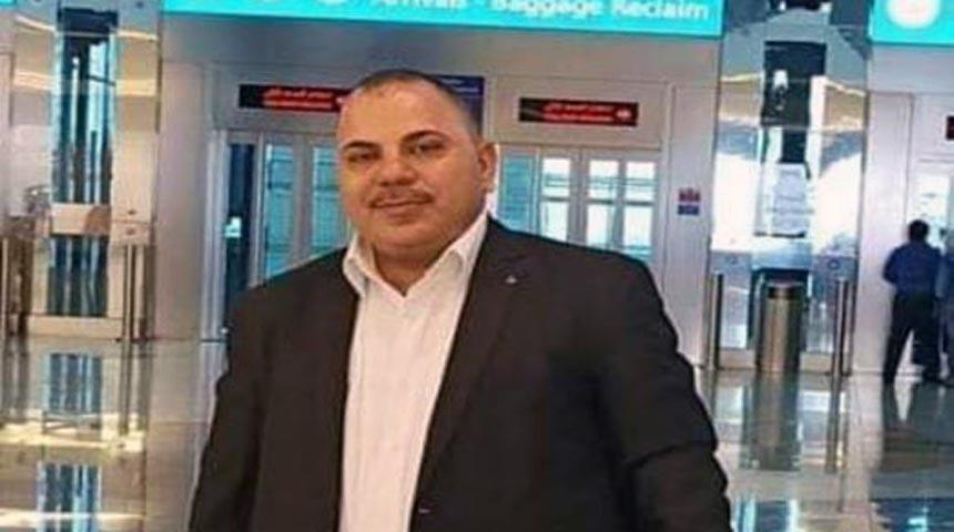 صابر أحمد عبدالهادى الشلف، فنى تحاليل طبية بالمعمل الرئيسي باثولوجيا إكلينيكية بمستشفى منيل قبلى