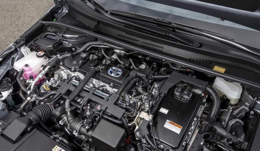 محرك تويوتا كورولا هايبرد 2021