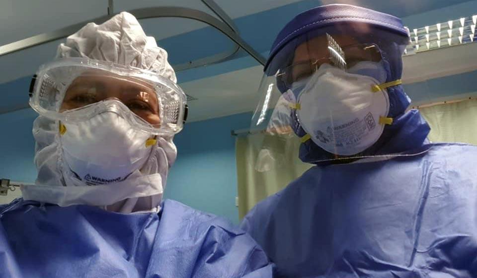 الأطقم الطبية فى مواجهة فيروس كورونا