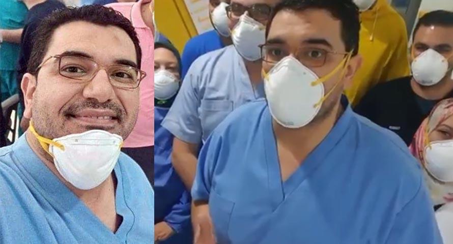 الدكتور أحمد ماضي يوسف أبوغنيمة، أخصائي الصدر