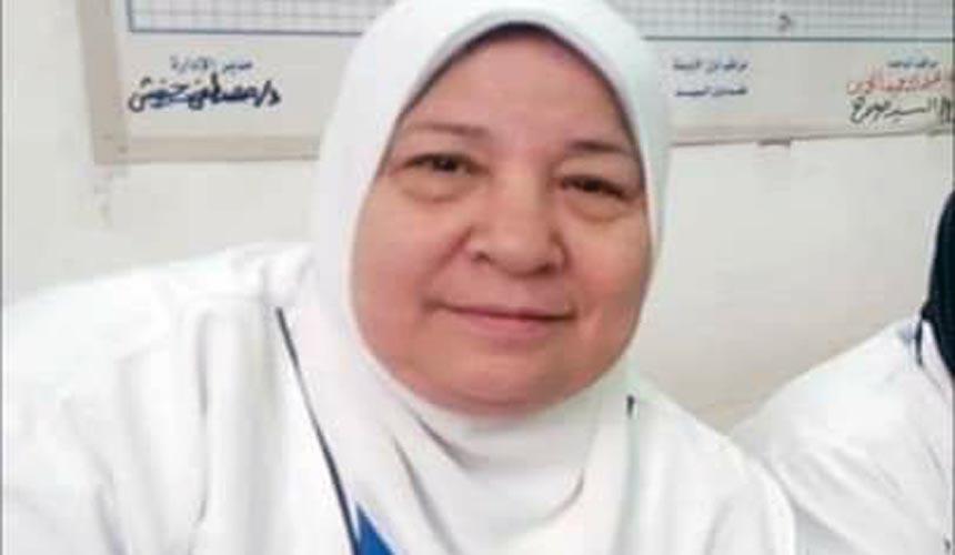 الممرضة إحسان محمد الحلو بكفر الدوار