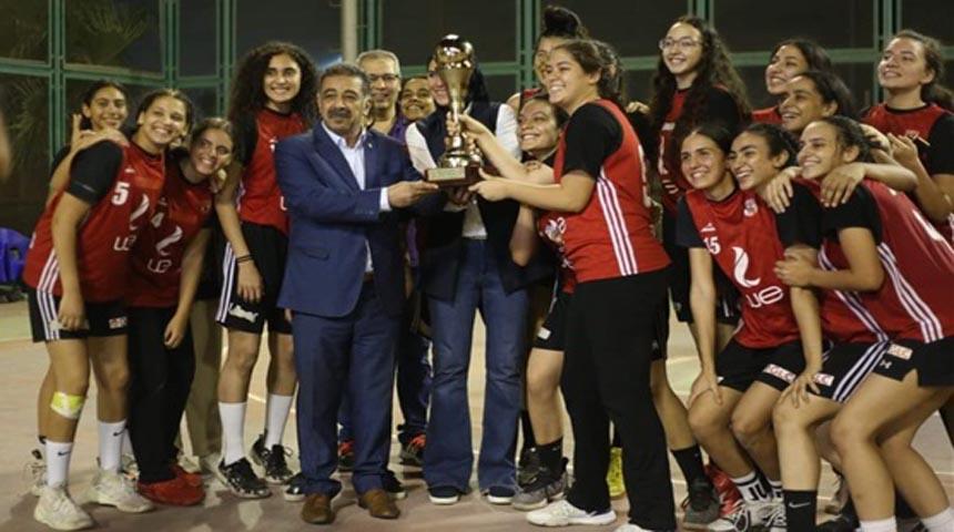 تتويح فريق آنسات النادي الاهلي لكرة السلة تحت 18 سنة ببطولة دوري الجمهورية 2020