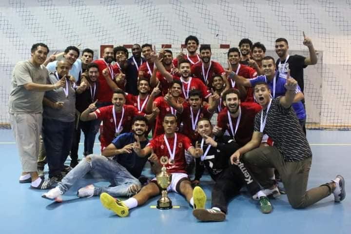 فريق الأهلى بطل كأس مصر مواليد 2000 شباب