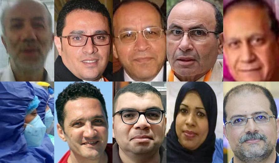 وفاة 10 من الأطقم الطبية بفيروس كورونا خلال عيد الأضحى