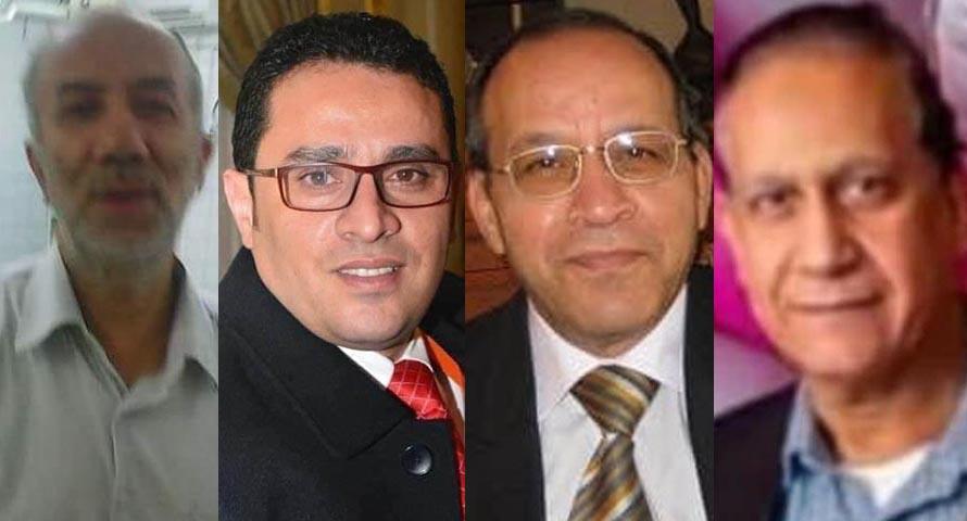 وفاة 4 أطباء وممرضة بفيروس كورونا اليوم