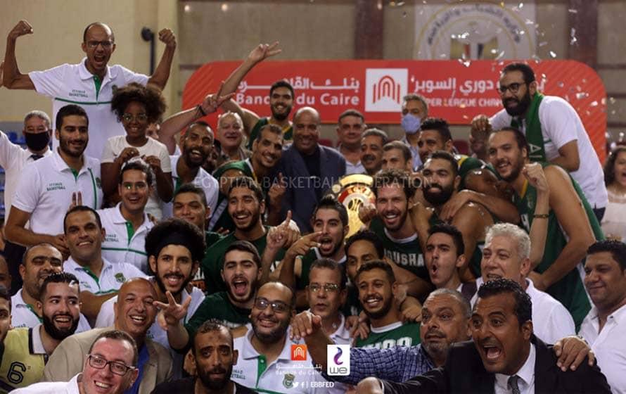 تتويج فريق الاتحاد بدرع دوري السوبر 2019-2020