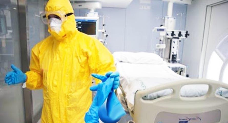 ممرض فى ظل جائحة فيروس كورونا