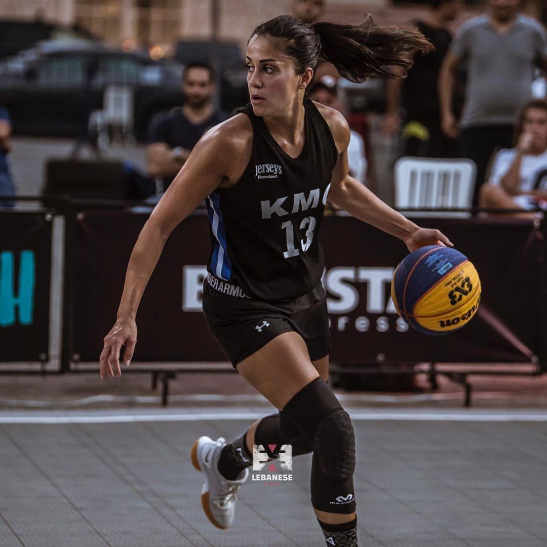 ميرامار مقداد، لاعبة منتخب لبنان ونادي الهومنتمن بيروت