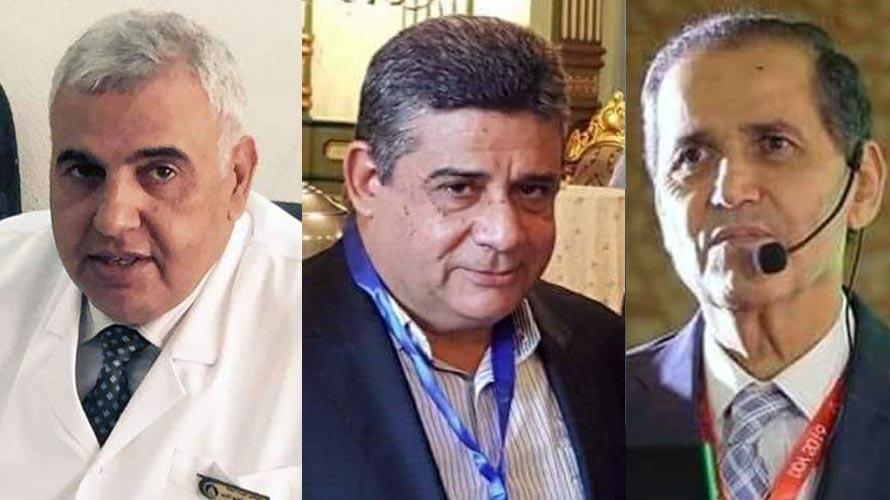 الدكتور نبيل جاد الحق ود محمد الغريب ود جمال الديب