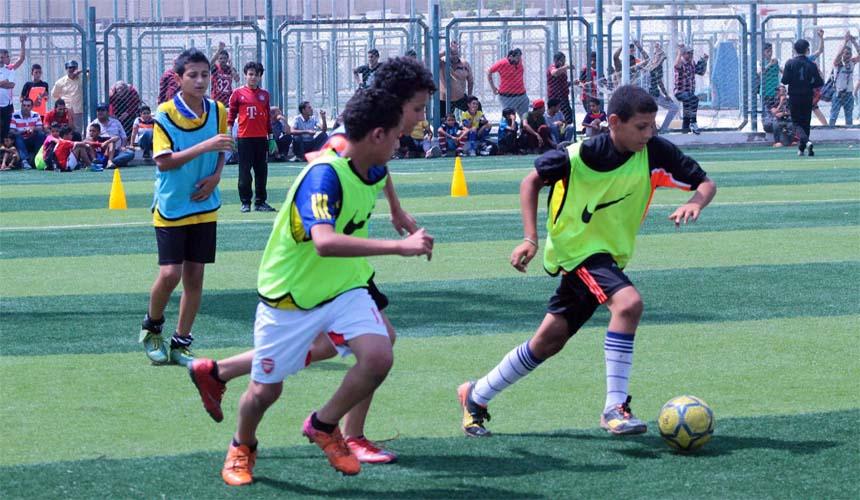 اختبارات الناشئين كرة القدم موسم 2021/2020