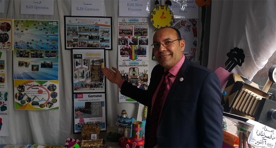 دكتور محمد فوزي مدير المدرسة المصرية اليابانية بجمصة