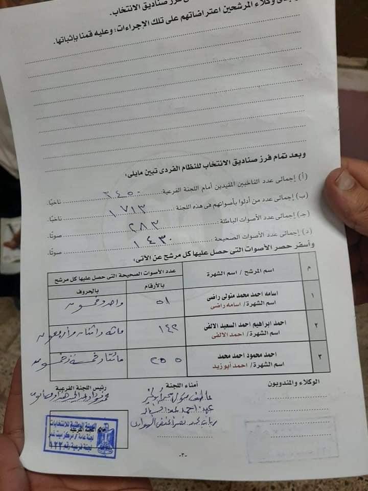 لجنة 122 انتخابات مجلس النواب في ميت غمر