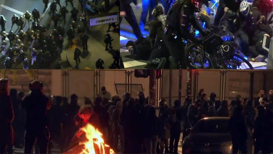 مظاهرات مناصرة لترامب بعد انتخابات الرئاسة الأمريكية