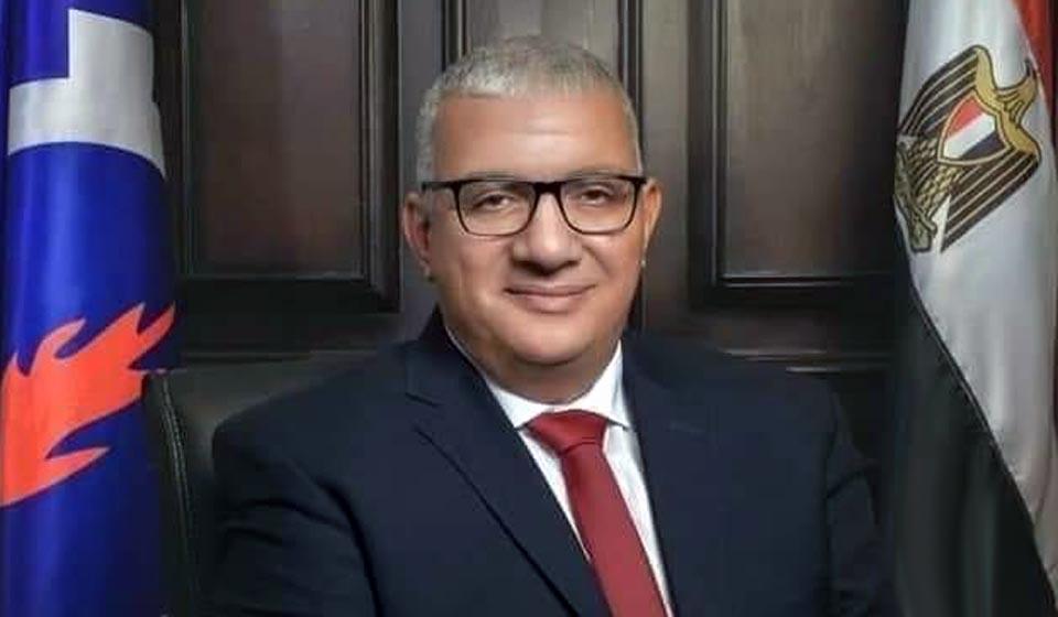 اللواء حسن عيد عضو مجلس النواب بالسويس