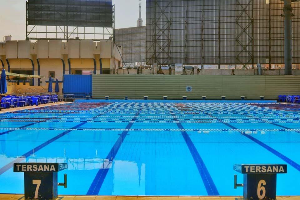 حمام السباحة الاولمبي في نادي الترسانة الرياضى