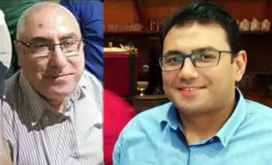 دكتور محمد ابو زيد شكر والاستاذ الدكتور حسان نعينع