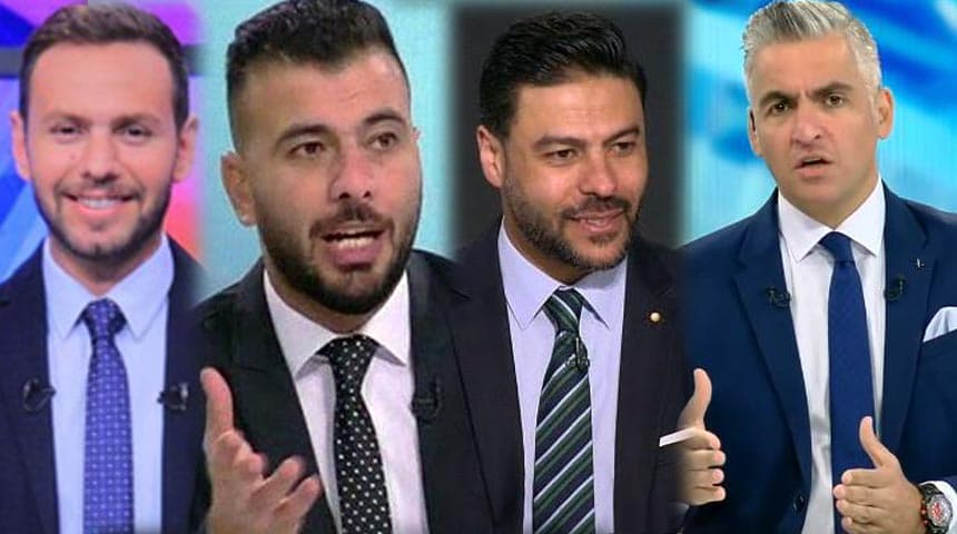 سيف زاهر وعماد متعب وعمرو الدسوقي ويحيي حمزة