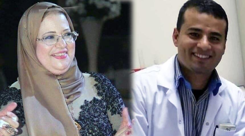 صيدلي خالد عيد وصيدلانية امال عويضه