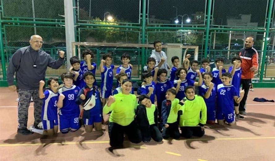 نادي الزهور فريق كرة اليد مواليد 2010