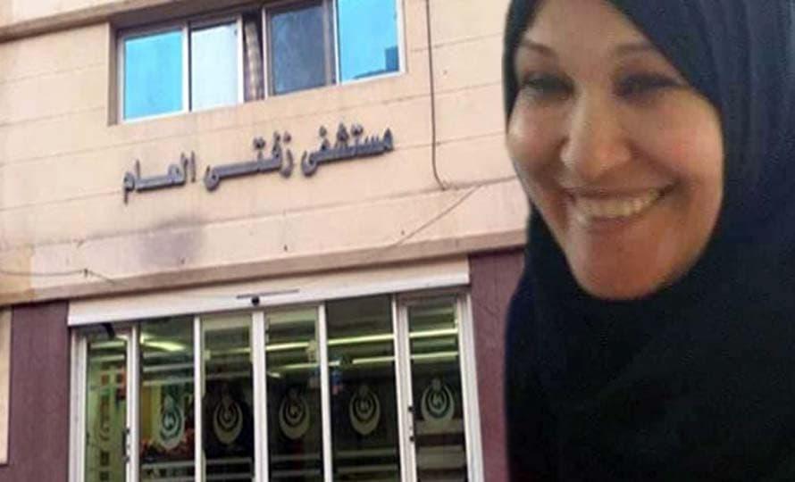 الممرضة عزة الشحات بمستشفي زفتى العام