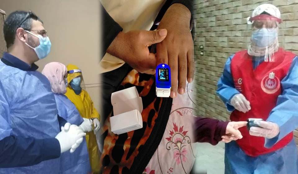 حملة 100 مليون صحة تتابع علاج مصابي فيروس كورونا في العزل المنزلي