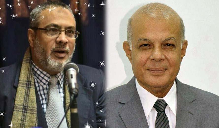 دكتور جمال مطر ودكتور يوسف خيره
