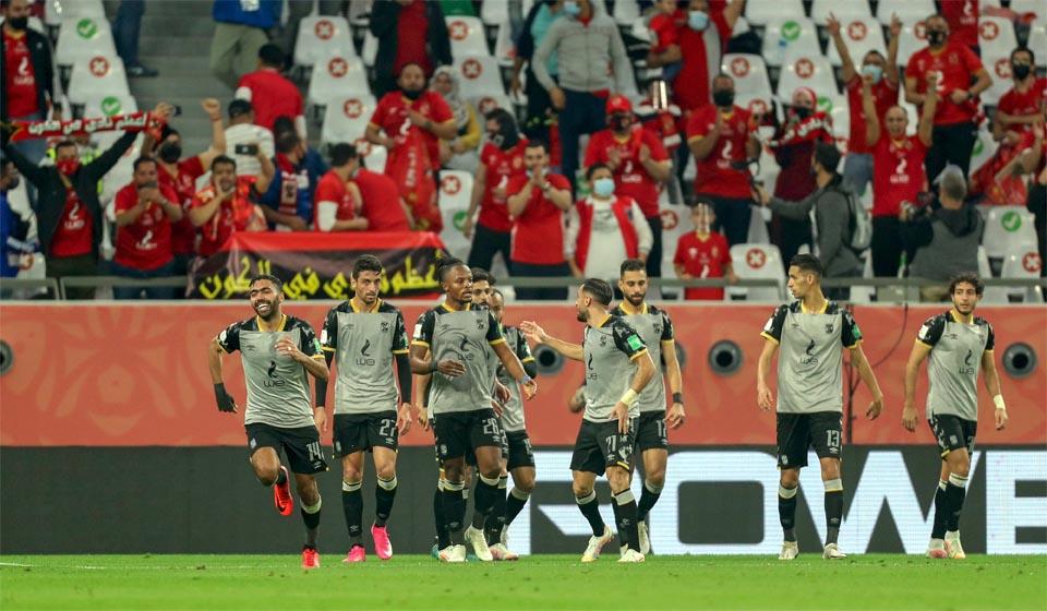 مباراة الاهلي والدحيل القطري في الدور التمهيدي من كأس العالم للأندية 2020
