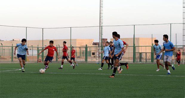 اختبارات كرة القدم بنادي العبور
