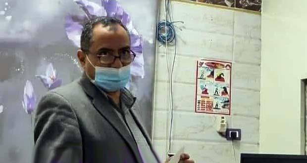 الدكتور نعيم ابو العيلة رئيس قسم الصدر بمستشفي المنزلة العام