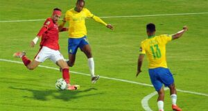 مباراة الاهلي وصن داونز في ذهاب دوري ابطال افريقيا 2021