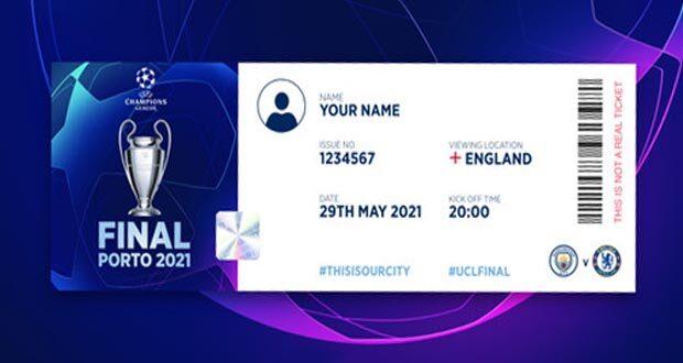 مباراة مانشستر سيتي وتشيلسي في نهائي دوري أبطال أوروبا