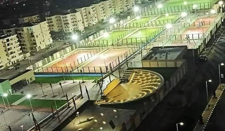 المدينة الشبابية الرياضية بحى الأسمرات