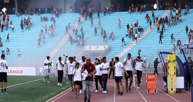 جماهير مباراة الاهلي والترجي في تونس