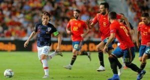 مباراة اسبانيا وكرواتيا في يورو 2020