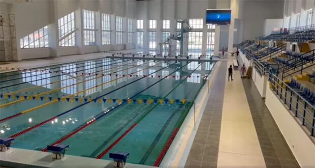 مجمع حمامات السباحة بالعاصمة الادارية