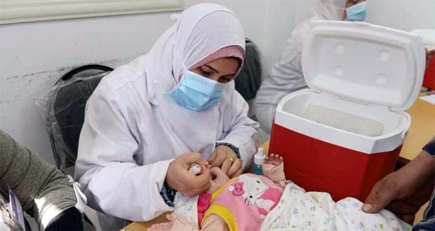 حملة شلل الاطفال