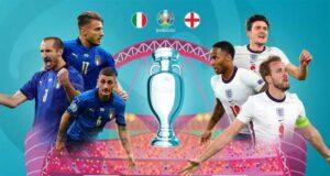 مباراة انجلترا وايطاليا في يورو 2020
