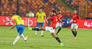 موعد مباراة مصر والبرازيل الاوليمبي