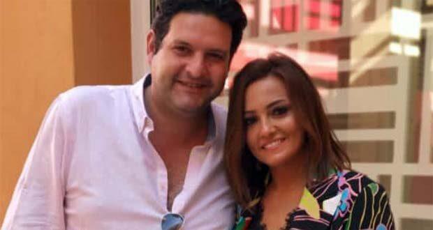 الفنانة بشري وزوجها عمرو هيكل