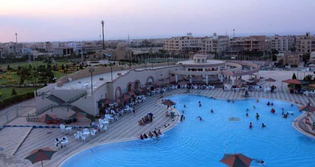 نادي جرين هيلز بمدينة الشروق